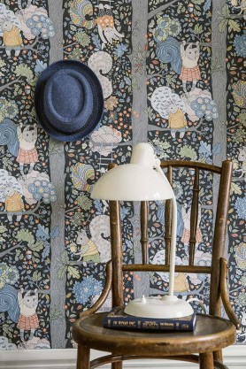 BorasTapeter - Scandinavian Designers Mini Collection - Charlie Wallpaper - 2 Colours Available