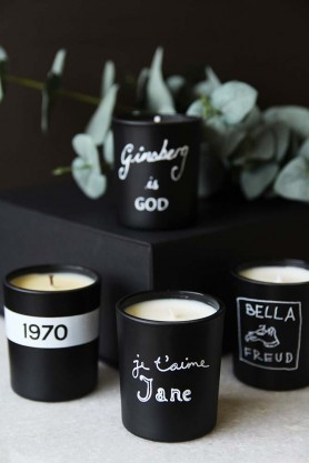 Set Of 4 Classic Mini Bella Freud Candles