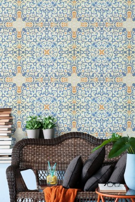 Mind The Gap Wallpaper Collection - Spanish Tile