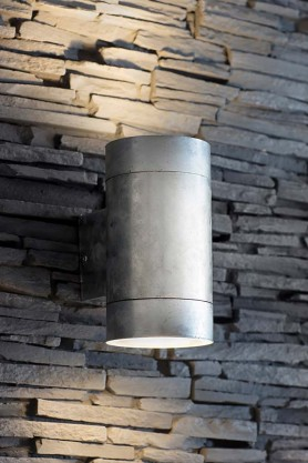 St Ives Hot Dipped Up & Down Wall Light - Large