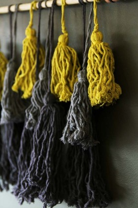 Tassel Wall Hanging Decoration