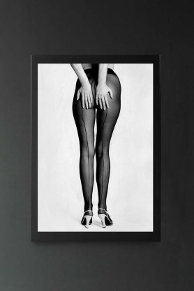 Unframed Chris Maxey's Legs In Tights 1976 Art Print