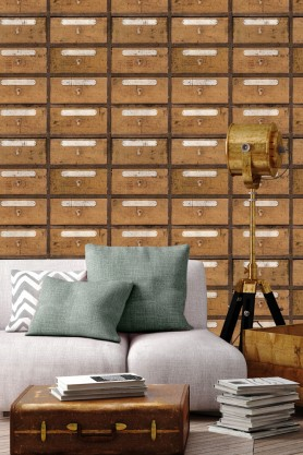 Mind The Gap Wallpaper Collection - Vintage Pharmacy