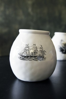 Handmade Ceramic Vase - Ship