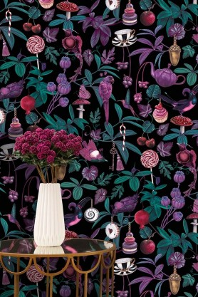 Belladonna Dark Wallpaper by Witch & Watchman