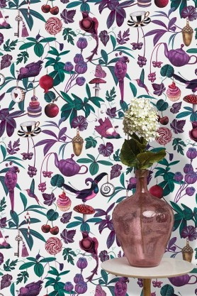 Belladonna Light Wallpaper by Witch & Watchman