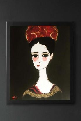 Unframed Florentine Art Print by Rebecca Sophie Leigh
