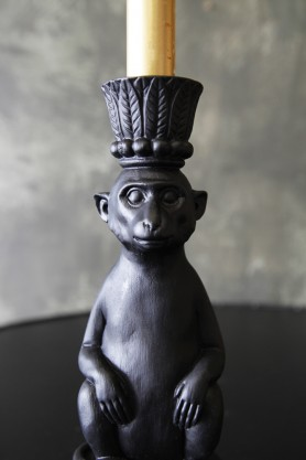 Abu Monkey Candle Holder