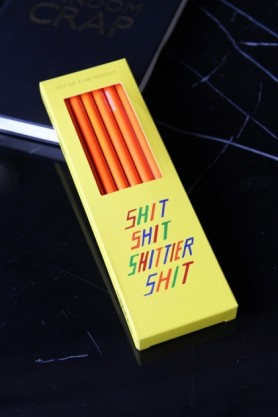 Sharp & Blunt Shit & Shitter Pencils