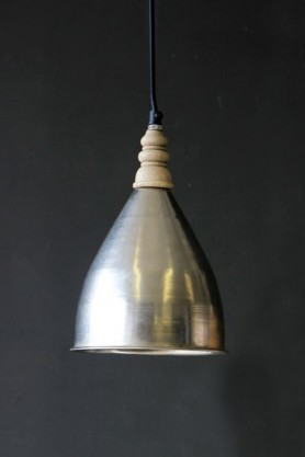Small Ropley Wooden Top Ceiling Light