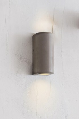 Southbank Outdoor Concrete Up & Down Wall Light