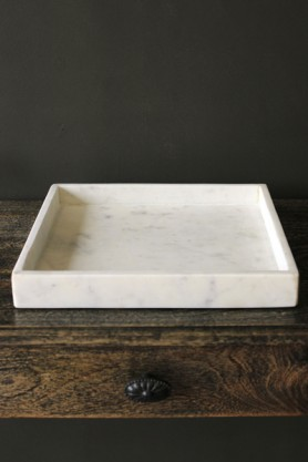 Square Marble Tray 30cm x 30cm