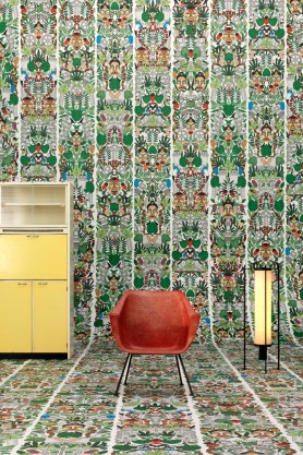 NLXL JOB-05 L'Afrique Archives Wallpaper by Studio Job