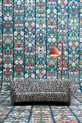 NLXL Studio Job Withered Flowers Wallpaper - Colour