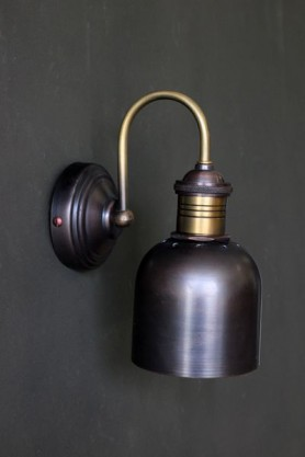 Swan Neck Parlour Wall Light