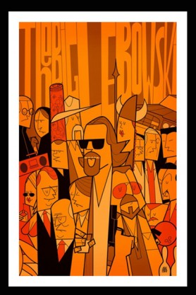The Big Lebowski Fine Art Print