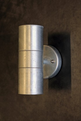 The Up & Down Steel Wall Light - suitable for indoor and out