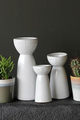 Peaceful People Vases - Set of 3