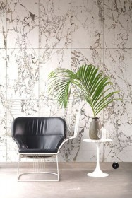 PHM-41A White Marble Wallpaper By Piet Hein Eek