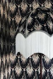 Anna Hayman Designs Velvet Pearl Lamp Shade
