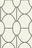 Cole & Son Geometric II - Riviera Wallpaper - 4 Colours Available