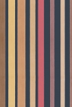 Cole & Son Marquee Stripes Collection - Carousel Stripe Wallpaper - Rouge Red