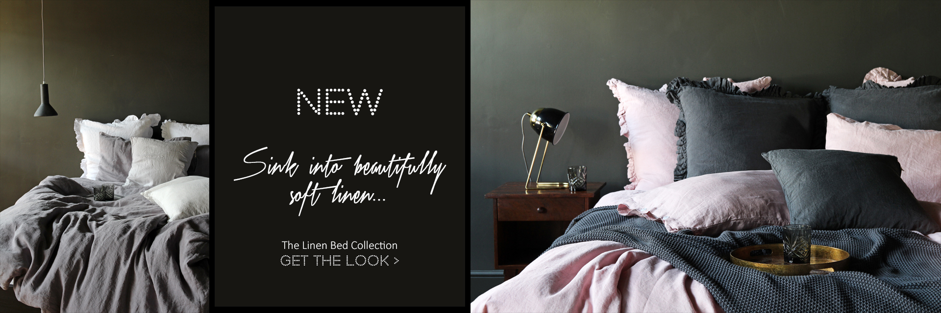 New Linen Bedding collection