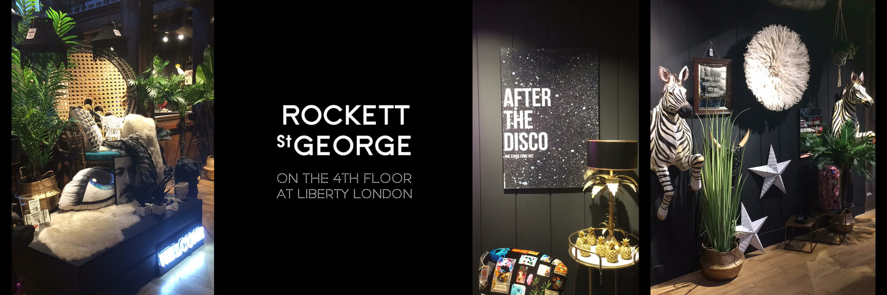 Rockett St George @ Liberty!