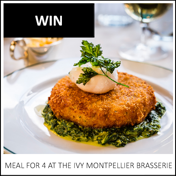 WIN: A MEAL FOR 4 AT THE IVY MONTPELLIER BRASSERIE, CHELTENHAM