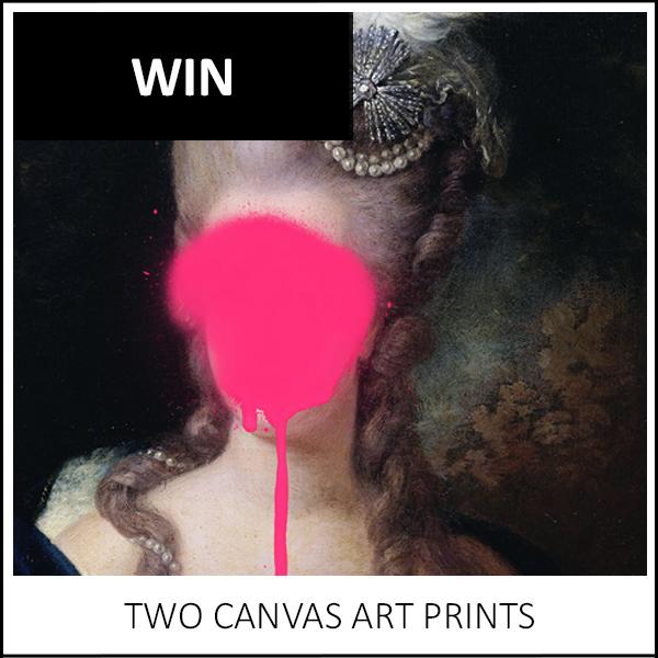 WIN: TWO CANVAS ART PRINTS