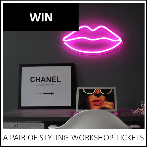 WIN: A PAIR OF STYLING WORKSHOP TICKETS