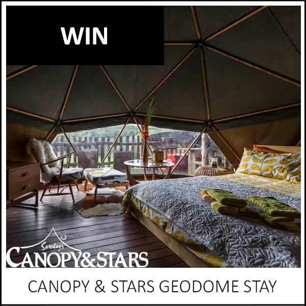 WIN: CANOPY & STARS GEODOME STAY