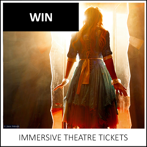 WIN: A PAIR OF THEATRE TICKETS TO ALICE'S ADVENTURES UNDERGROUND