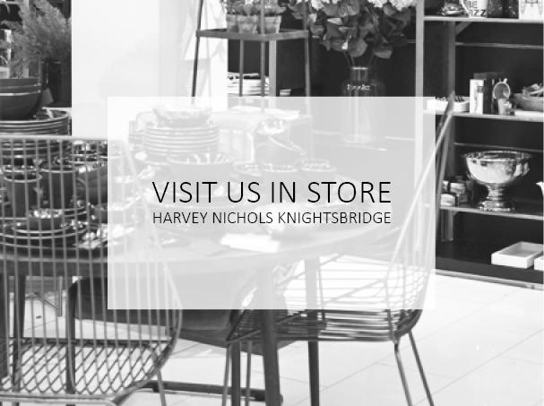 Visit us in-store at Harvey Nichols Knightsbridge