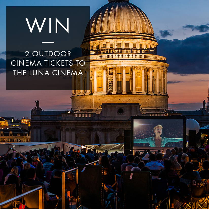 WIN: TWO OUTDOOR CINEMA TICKETS TO THE LUNA CINEMA