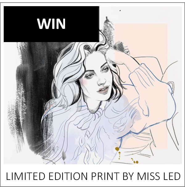 WIN: LIMITED EDITION PRINT BY MISS LED