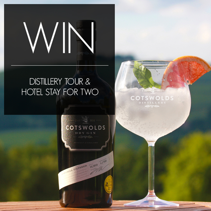WIN: A DISTILLERY TOUR AND HOTEL STAY FOR TWO