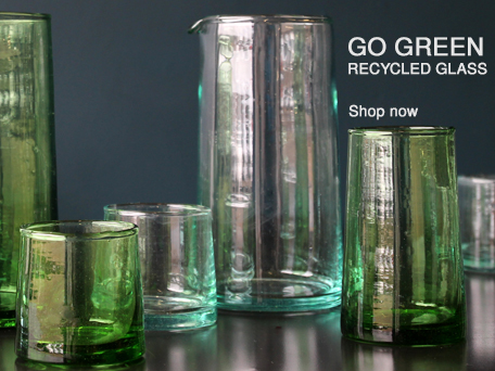 RECYCLED GLASSWARE