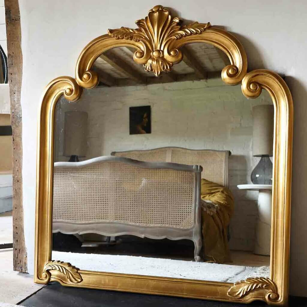 image of the Gold Filigree Ornate Mirror