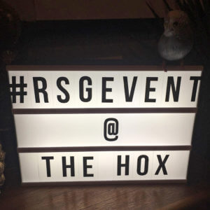 #RSGEVENTS: LAUNCH @ THE HOXTON