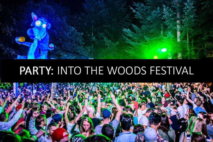 PARTY INTO THE WOODS