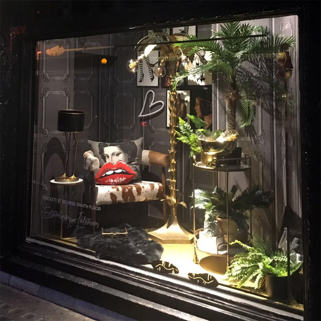 The Rockett St George Window At Liberty