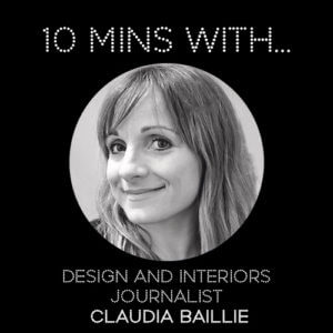 #10MINSWITH: CLAUDIA BAILLIE