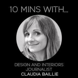 #10MINSWITH: CLAUDIA BAILLIE