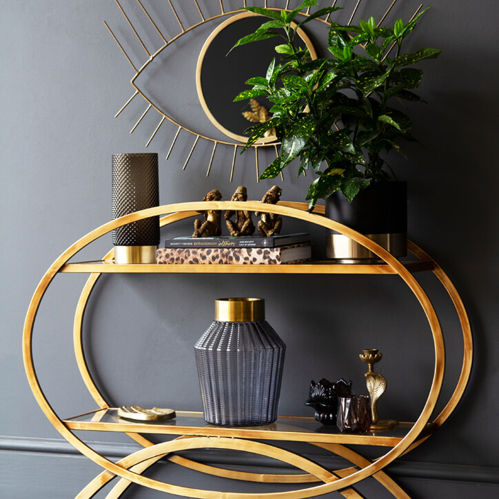 The Rockett St George Sphere Console Table.