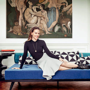 #RSGSTYLE: HILARY SWANK'S PARISIAN APARTMENT