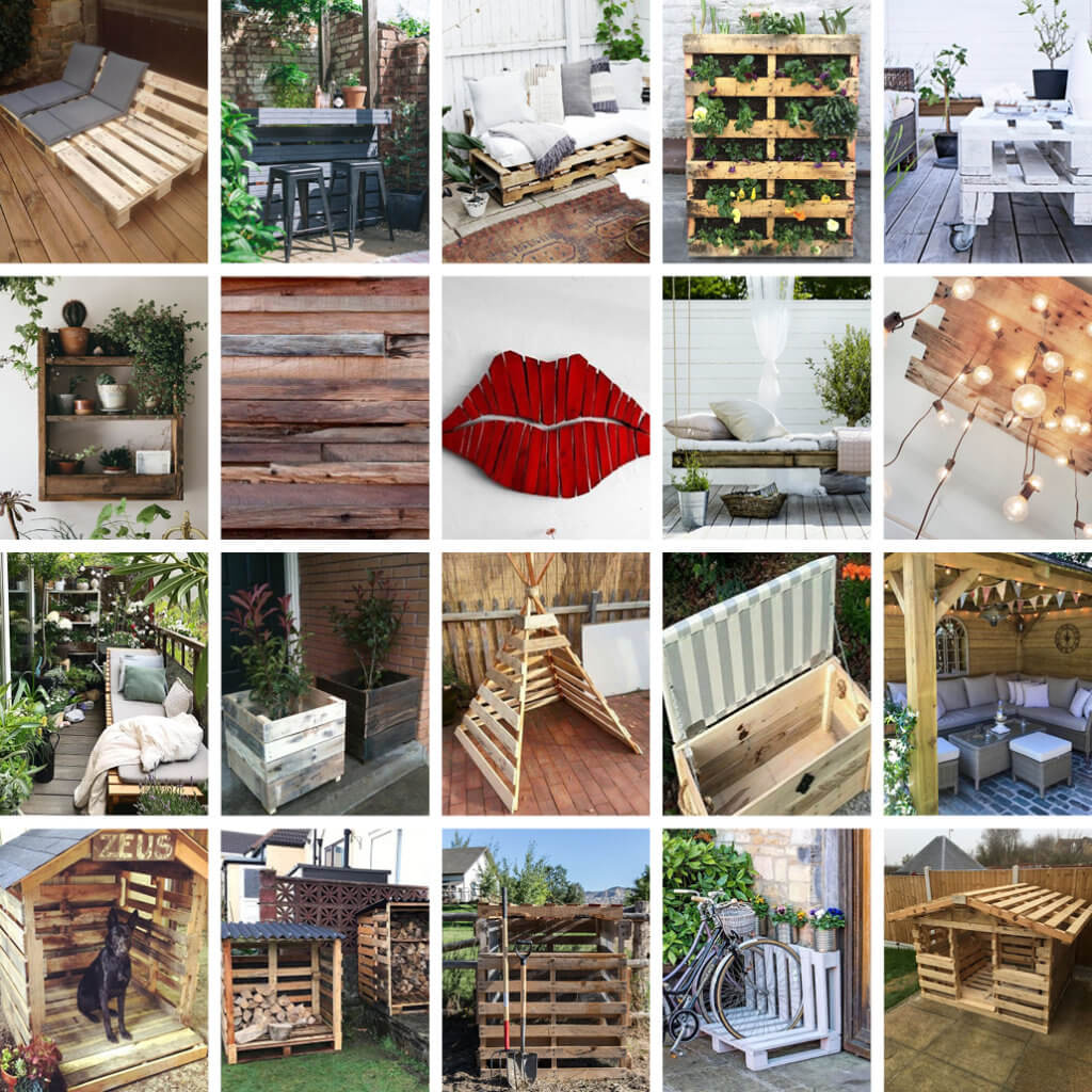 20 wooden pallet ideas for your garden