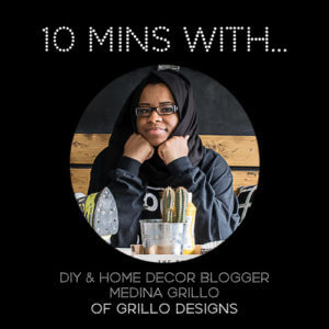#10MINSWITH: GRILLO DESIGNS