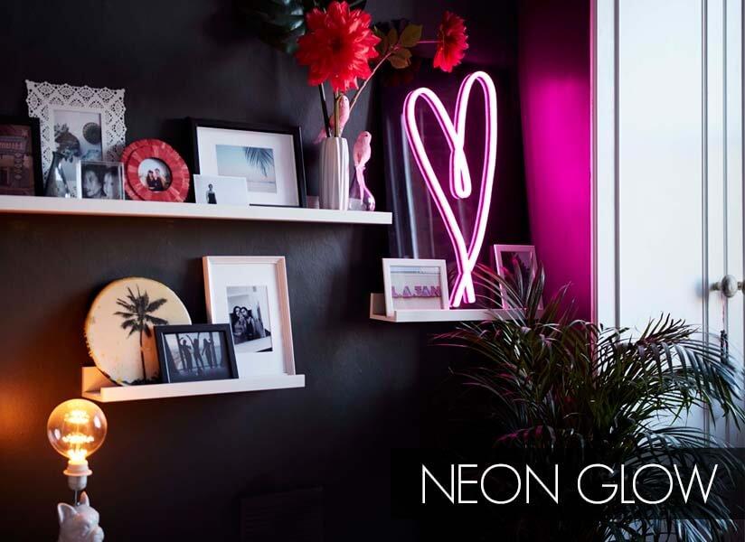 Neon Glow: Shelfie