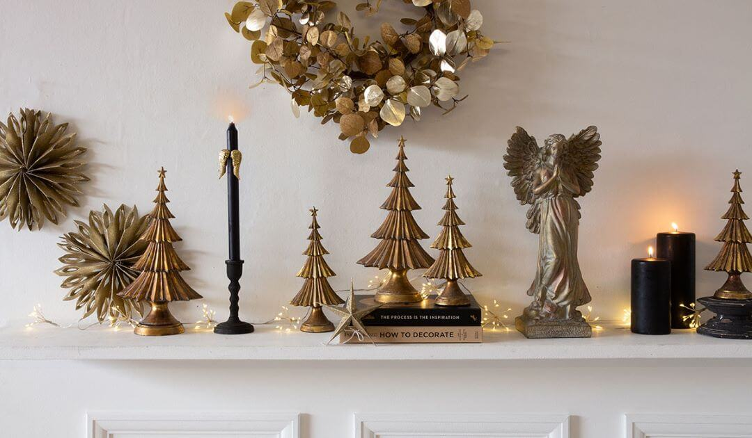 Dressing your mantlepiece